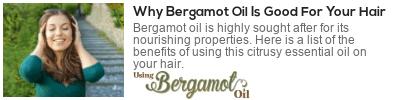 using bergamot oil