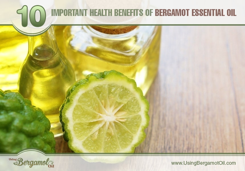 bergamot essential oil health benefits