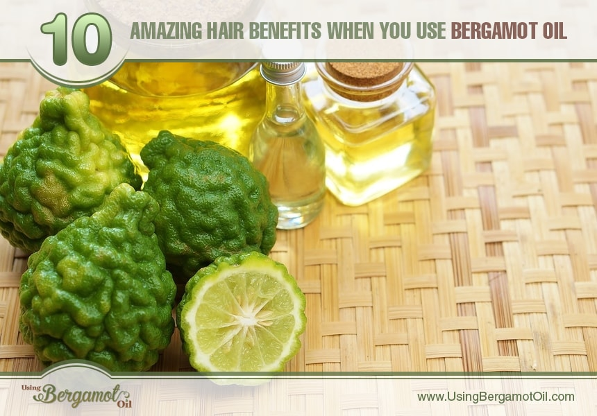 benefits of bergamot oil for hair