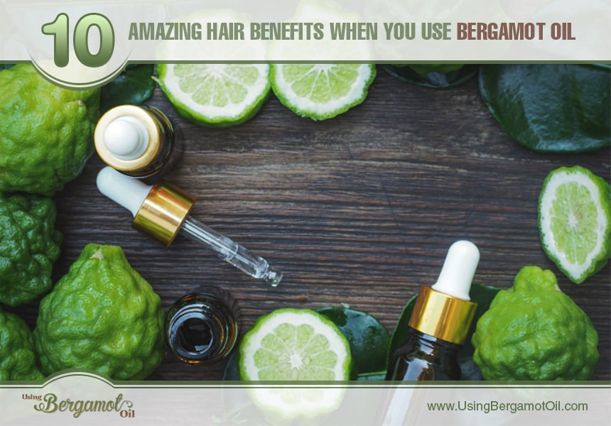 benefits of bergamot oil on hair