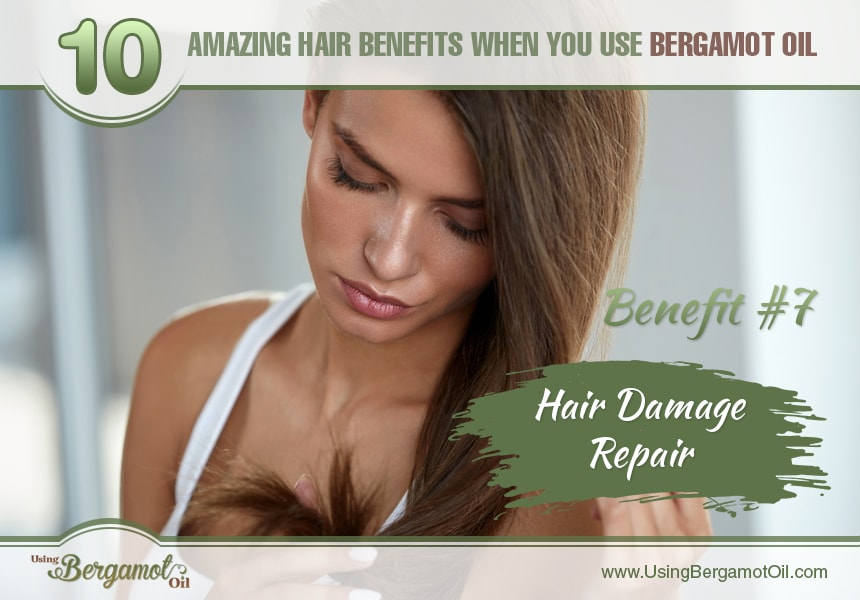 bergamot oil hair benefits