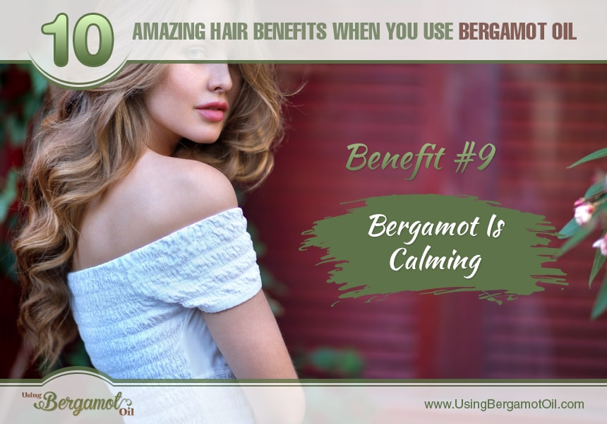 benefits of bergamot essential oil for hair