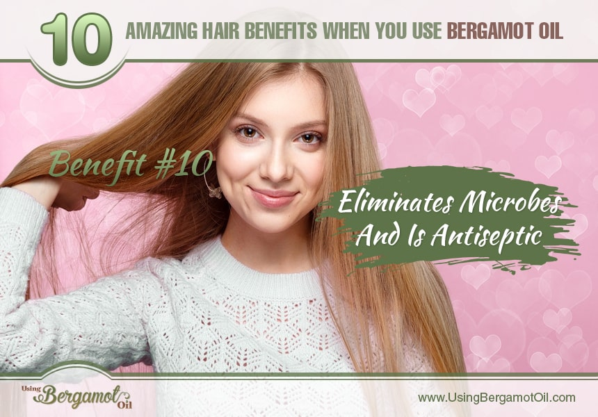 benefits of bergamot oil on hair