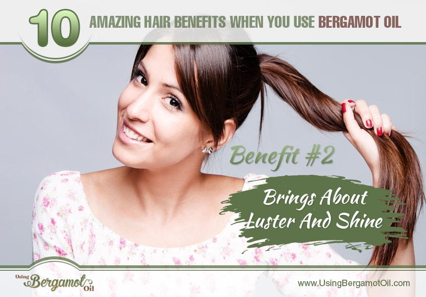 benefits of bergamot oil for hair growth
